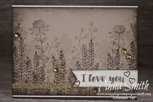 Stampin' Up! Wildflower Fields Berry Basket and Card Set would be a great handmade gift idea