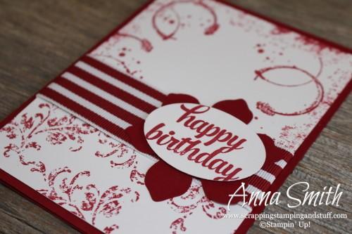 Timeless Textures Card Stampin' Up!