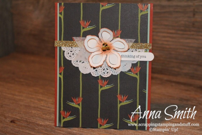 Botanical Blooms Card Stampin' Up!