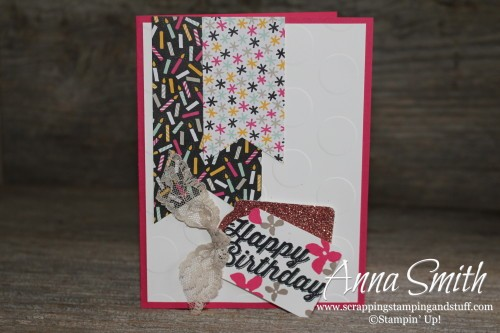 Stampin' Up! It's My Party Birthday Card