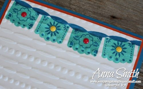 Cute cactis card made with Stampin' Up! Birthday Fiesta Stamp Set
