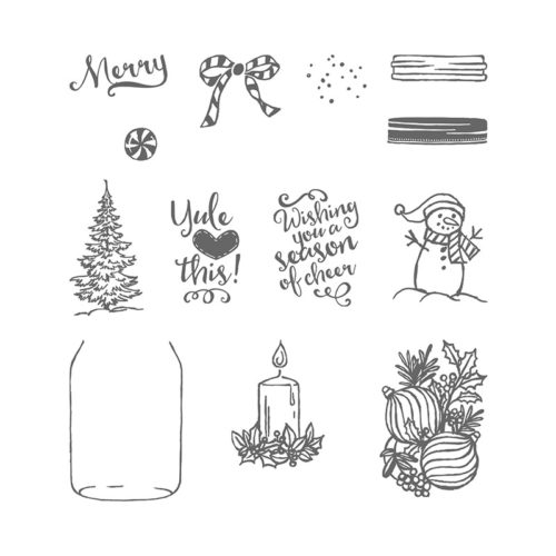Stampin' Up! Jar of Cheer Stamp Set