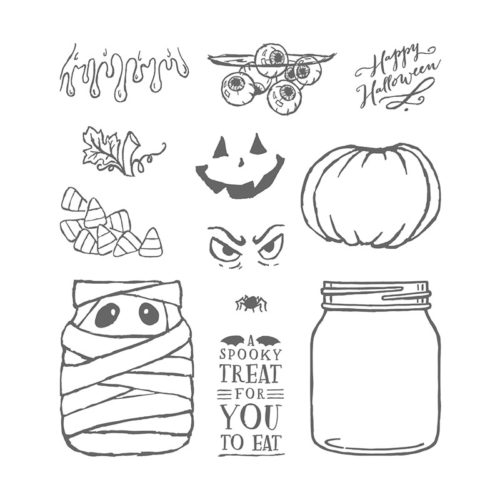 Stampin' Up! Jar of Haunts Stamp Set