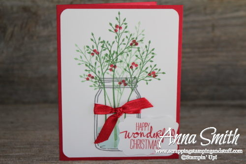 Jar of Love Christmas Card
