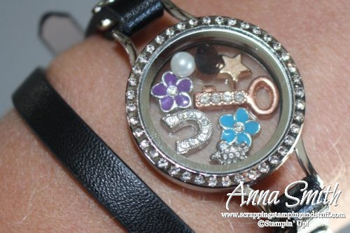 Direct sales team member rewards idea, Stampin' Up! Team Member Gifts - Charm Locket Bracelets