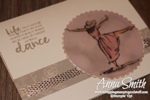 Stamplin' Up! Beautiful You - Dance in the Rain thinking of you card