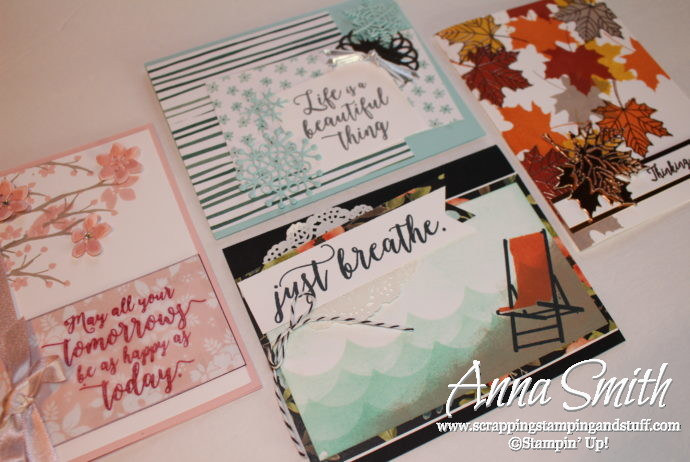 Win the Stampin' Up! Colorful Seasons Class In the Mail for Free! Comment on this post!