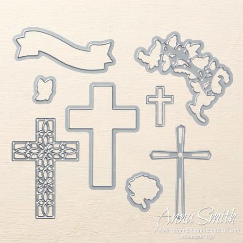 Stampin' Up! Cross of Hope Thinlits Dies