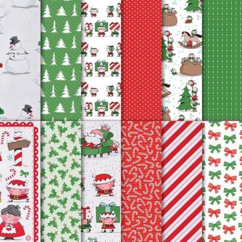 Stampin' Up! Santa's Workshop Designer Series Paper