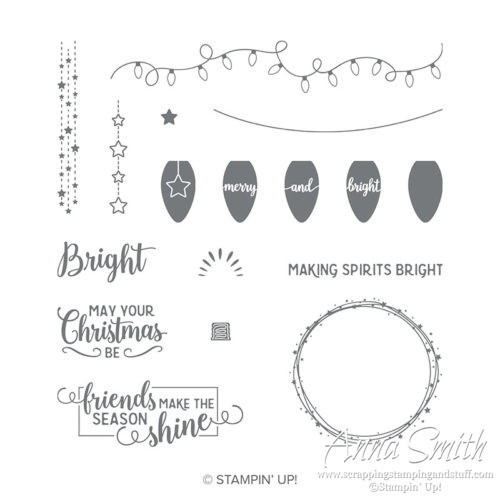 Stampin' Up! Making Christmas Bright Stamp Set