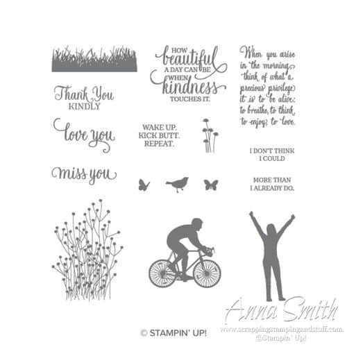 Stampin' Up! Enjoy Life Stamp Set