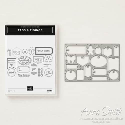 Stampin' Up! Tags & Tidings Bundle