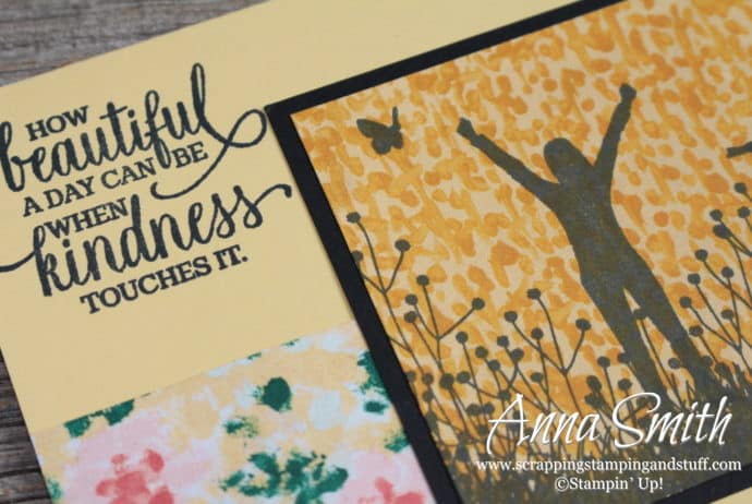 Stampin' Up! Enjoy Life Thank You Card Idea
