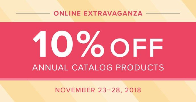 Stampin' Up! Black Friday Sale Online Extravaganza Black Friday Sale - Nearly the entire Annual Catalog is on sale!!!