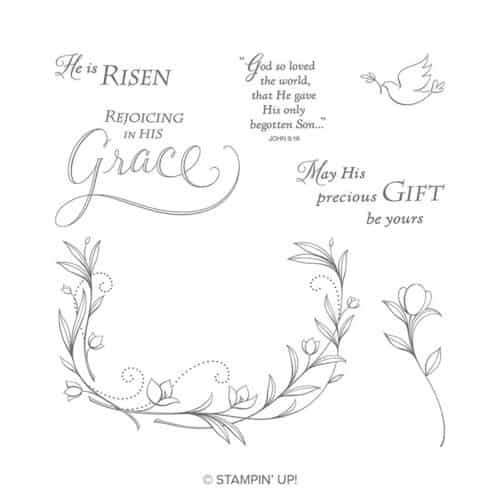 Stampin' Up! His Grace Easter Stamp Set