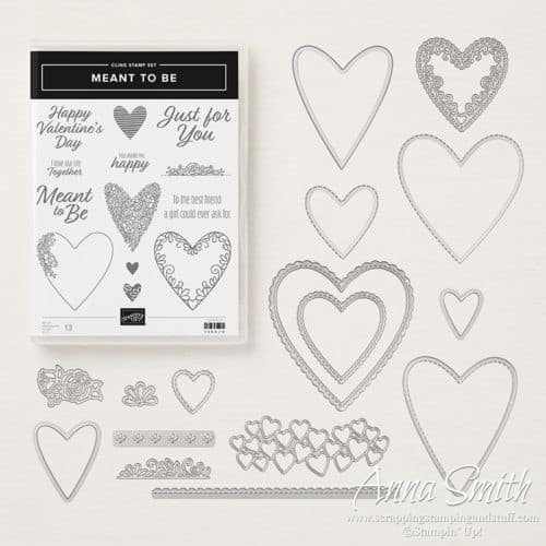 Stampin' Up! Meant to Be Bundle for Valentine's Day and Hearts