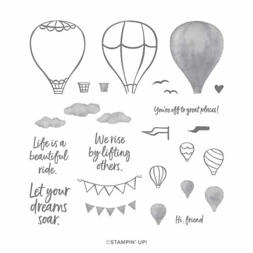 Stampin' Up! Above the Clouds Stamp Set