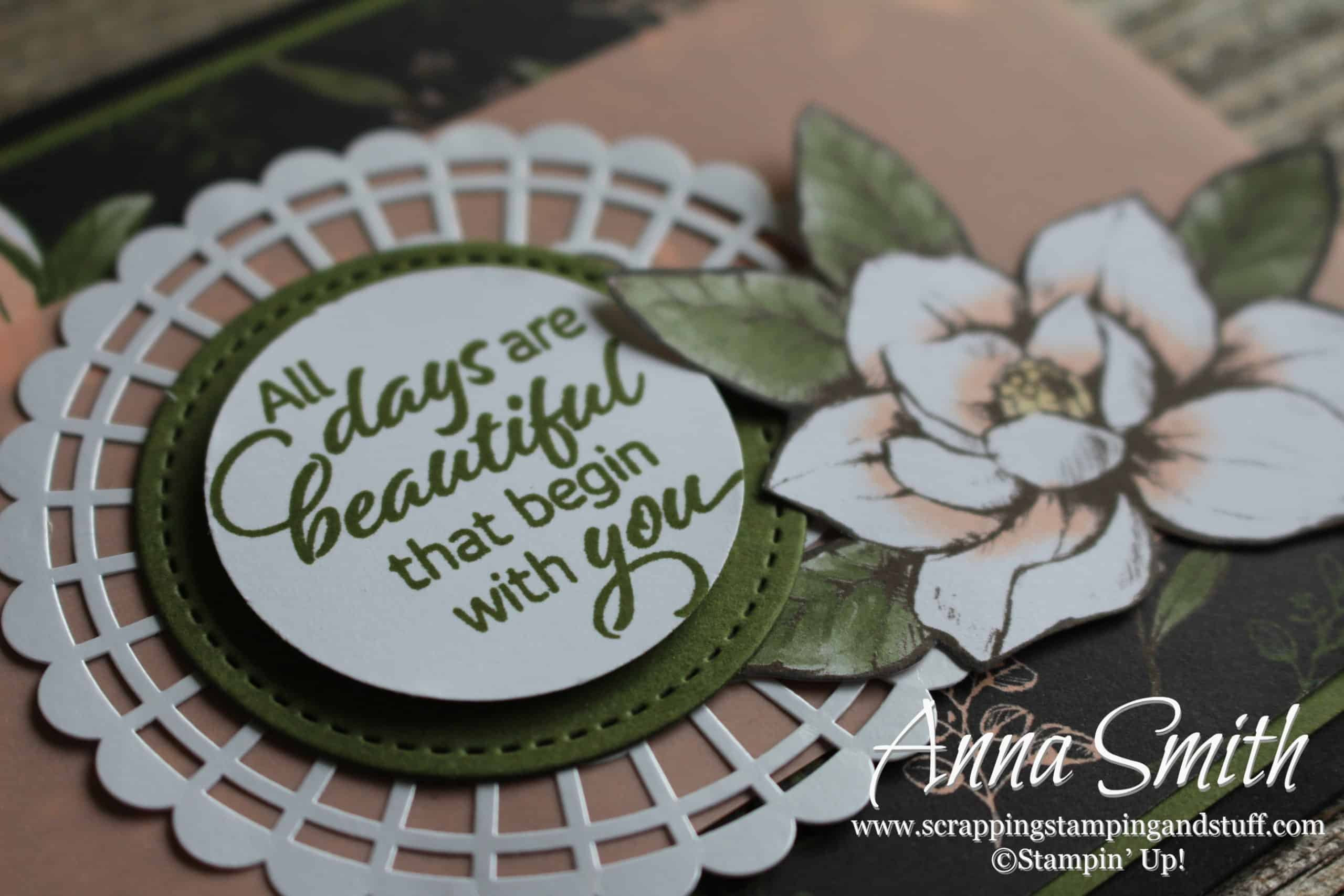Introducing Stampin Up Magnolia Lane Scrapping Stamping And Stuff
