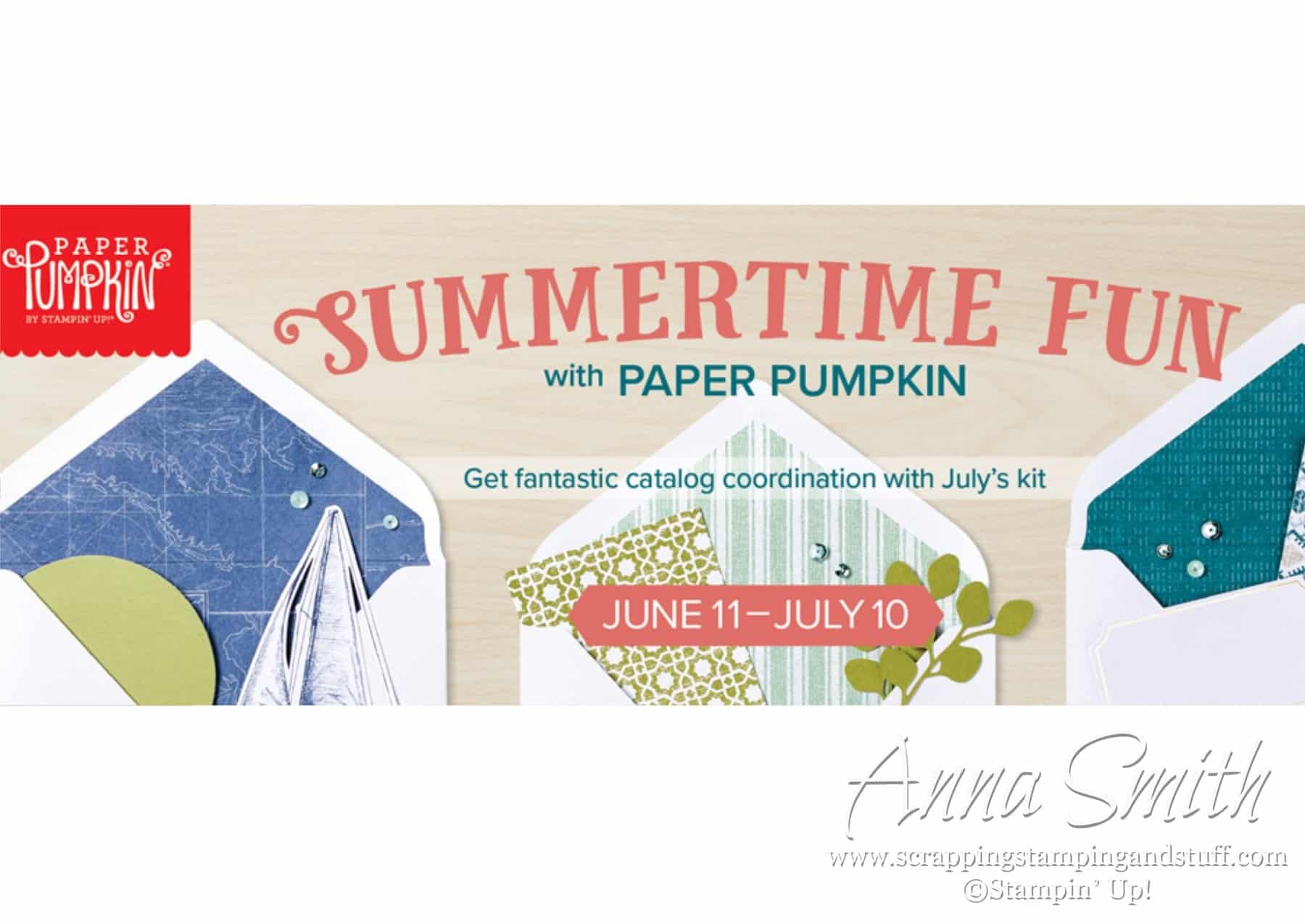 Sign up for July's Paper Pumpkin!