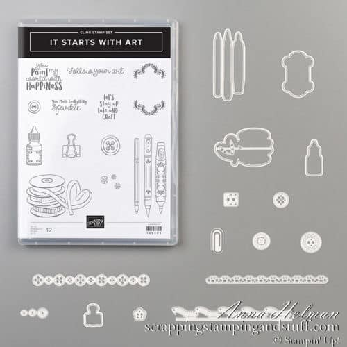 Stampin' Up! it starts with art Bundle