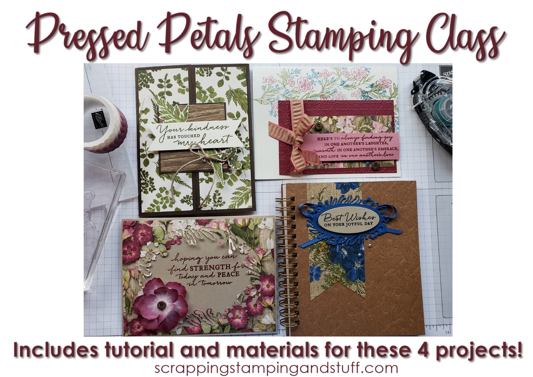 Pressed Petals Class Now Available!