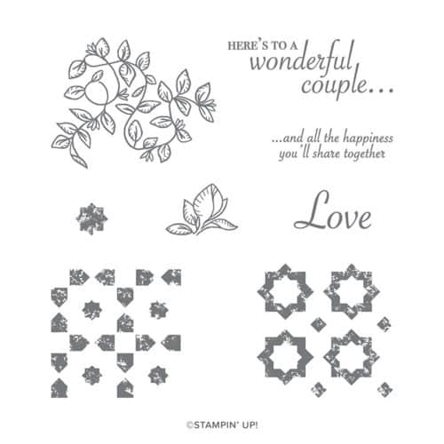Stampin' Up! Verdant Garden Stamp Set for Stamping Quilts