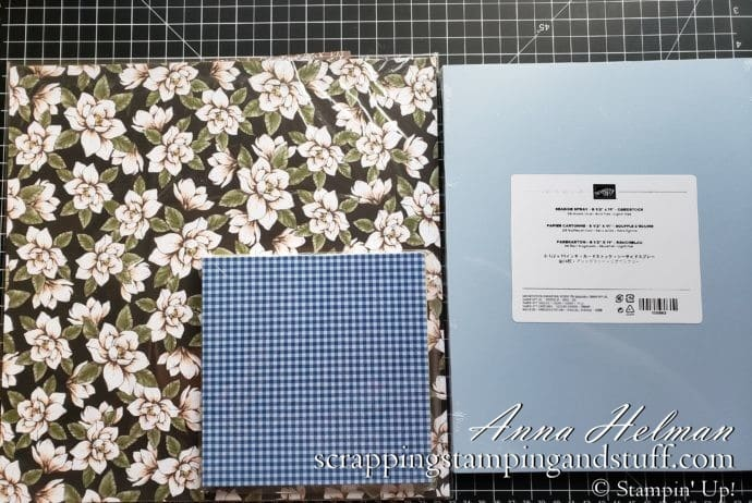 Cardmaking 101 Lesson 3: All About Paper. Learn about types and weights of paper, how to prepare a card base, and sizes for cutting card mats.