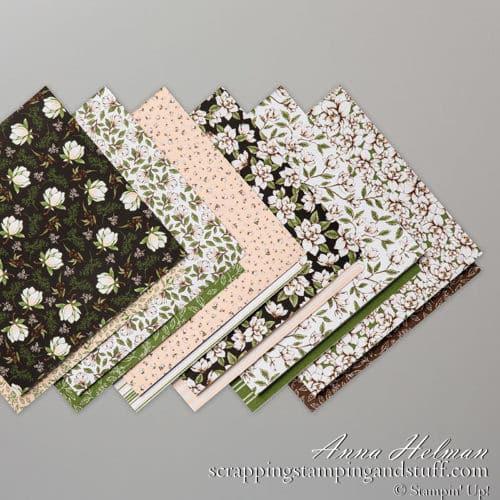 Stampin Up Magnolia Lane Designer Series Paper