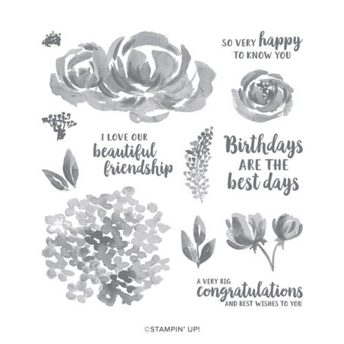 Stampin Up Beautiful Friendship Card Ideas and Stamp Set