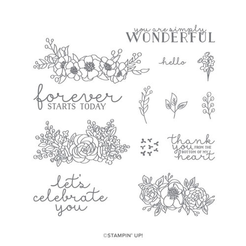 Stampin Up Bloom & Grow Stamp Set