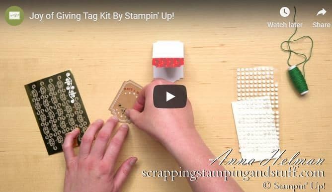 Stampin Up Video Tutorials