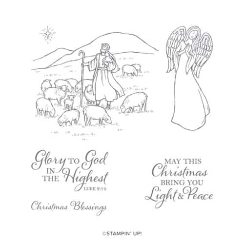 Stampin Up Light & Peace Stamp Set
