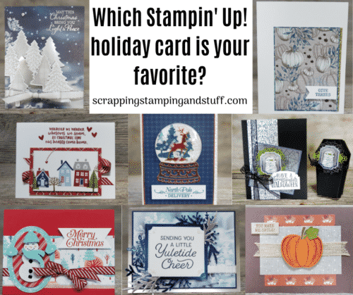 Stampin' Up! 2019 Holiday Card Ideas