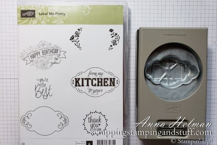 Cardmaking 101 Lesson 7: Using punches for cardmaking and scrapbooking #simplestamping Simple thank you card idea