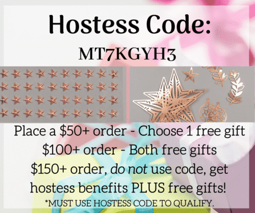 Stampin Up Free Gift With Order For Using Hostess Code