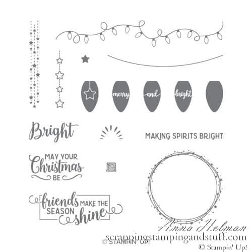 Stampin Up Making Christmas Bright Stamp Set