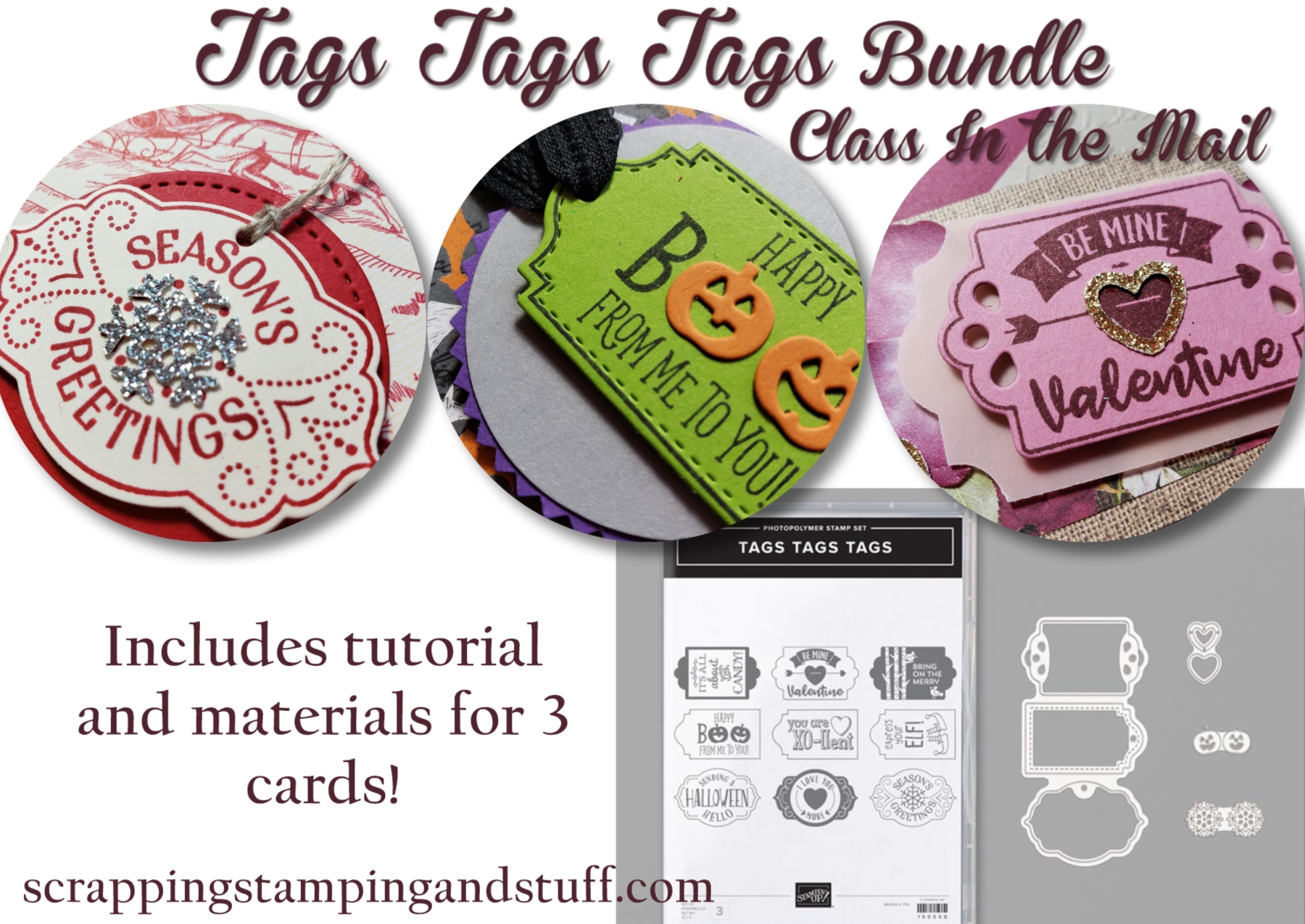 Tags Tags Tags Class Now Available!