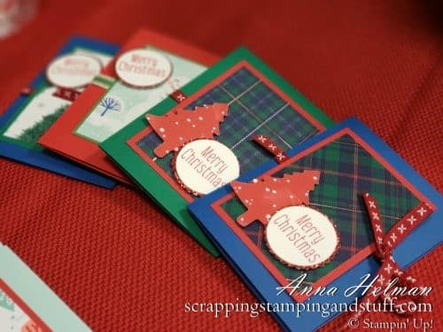Stampin' Up! DIY Gift Card Holder with Template