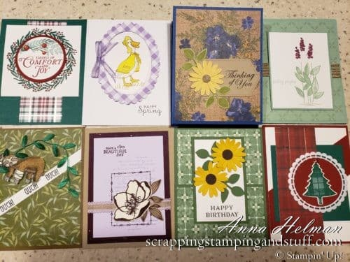 Stampin Up OnStage Card Swaps, Handmade Card Ideas