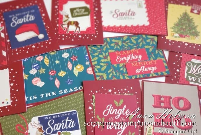 Christmas Cards in a Jiffy with Memories and More Card Kits