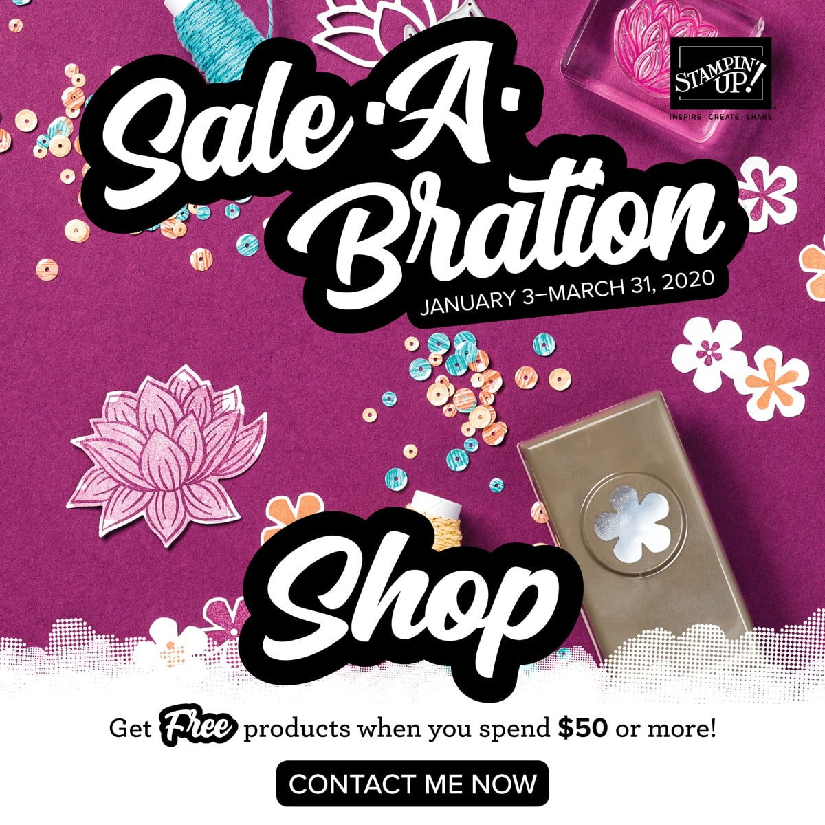 Sale-a-bration Begins!
