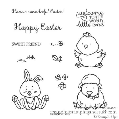 Stampin Up Welcome Easter Stamp Set