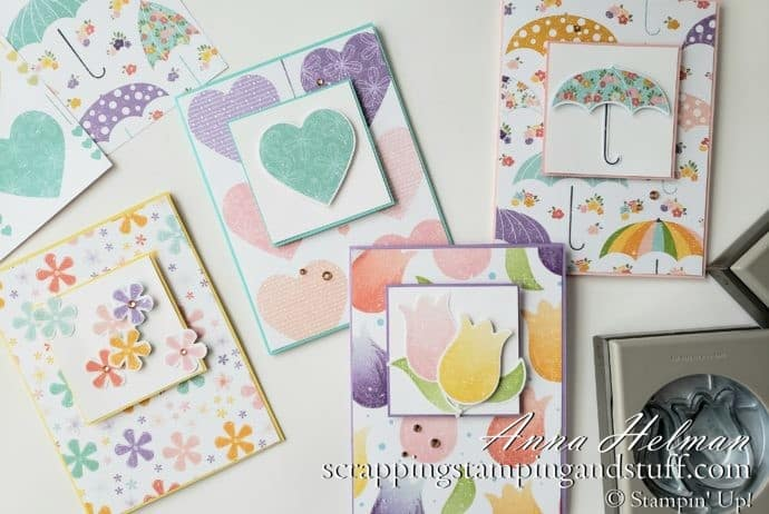 These special release coordinating products are amazing!!! Stampin Up Coordination Product Release Pleased as Punch designer paper and card ideas!