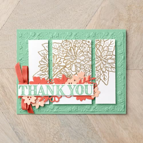 Beautiful cards made with the Stampin Up Ornate Garden early release from the 2020-2021 Annual Catalog