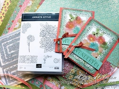 Sneak Peek From the New 2020-2021 Stampin' Up Annual Catalog - Ornate Garden Product Suite