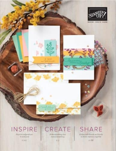 2020-2021 Stampin' Up! Annual Catalog Being Released June 3!