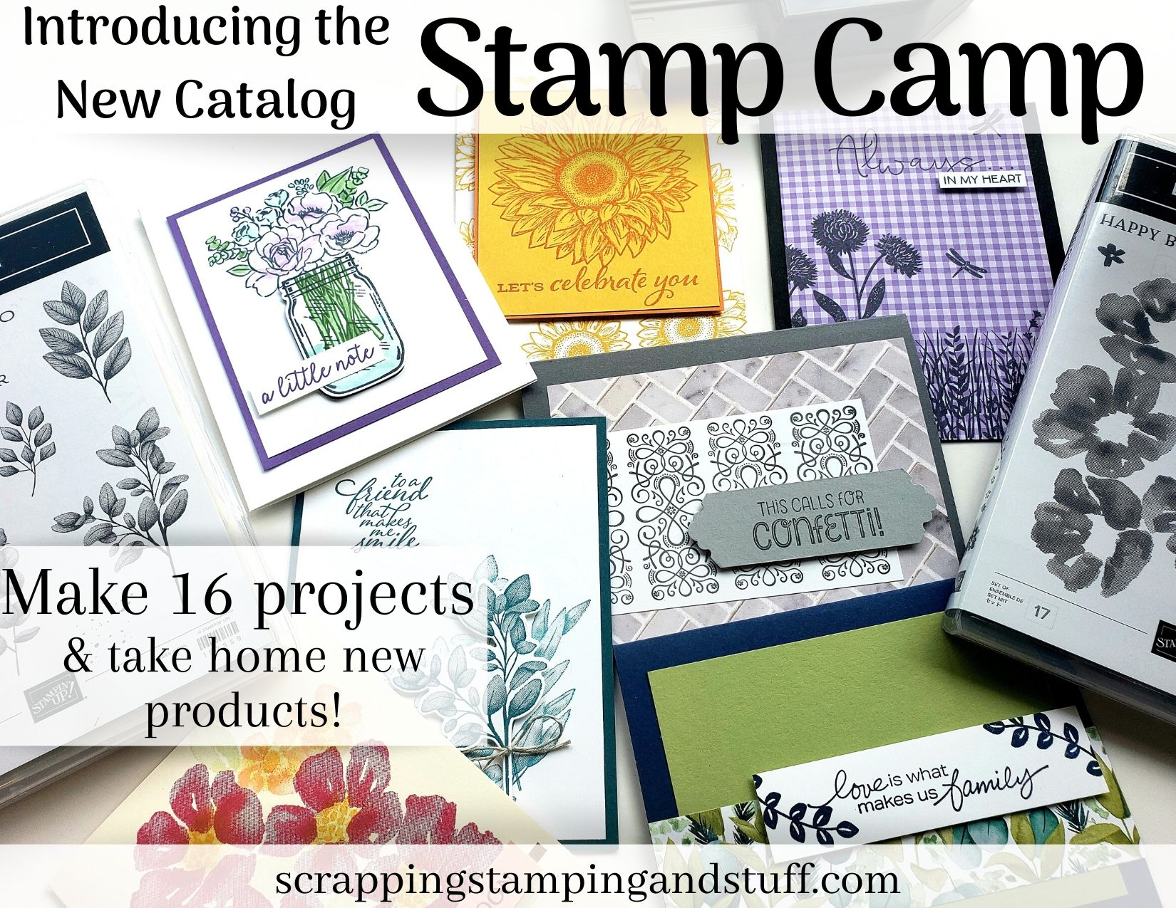 Register Now For Stamp Camp!
