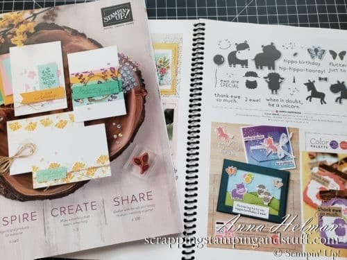 Join In For My New Stampin Up Catalog Walkthrough And See The Catalog Up Close And Personal