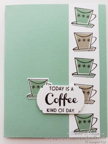 Cute & Funny Cards With Stampin Up Nothings Better Than Stamp Set - Cookies, Chocolate, Coffee & Cocktails!