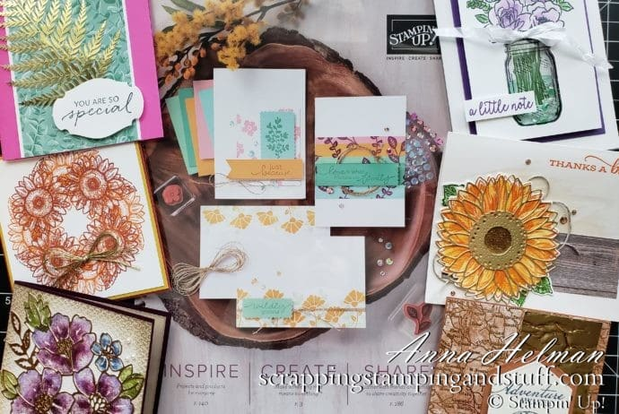 Stampin Up Catalog Kickoff Party For The New 2020-2021 Annual Catalog